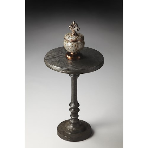Butler Specialty Company Metalworks Pedestal Accent Table