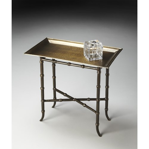 Butler Specialty Company Metalworks Tray Table