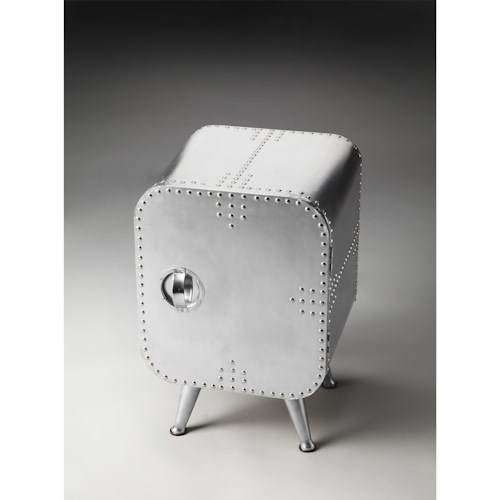 Butler Specialty Company Metalworks Chairside Chest