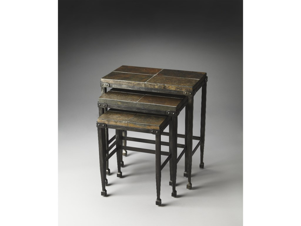 Butler Specialty Company MetalworksNesting Tables