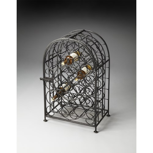 Butler Specialty Company Metalworks Wine Rack