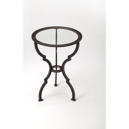 Butler Specialty Company Metalworks Yvonne Metal End Table