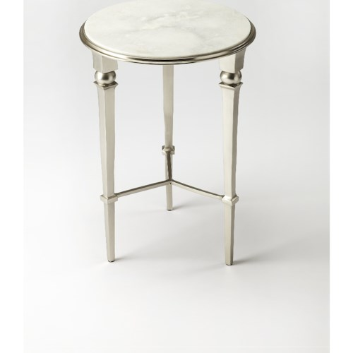 Butler Specialty Company Modern Expressions Darrieux Marble End Table