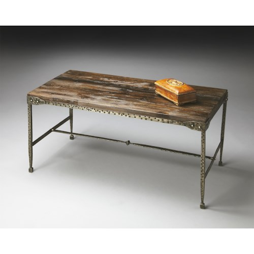 Butler Specialty Company Mountain Lodge Cocktail Table