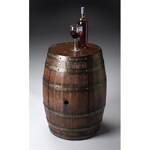 Butler Specialty Company Mountain Lodge Barrel Table