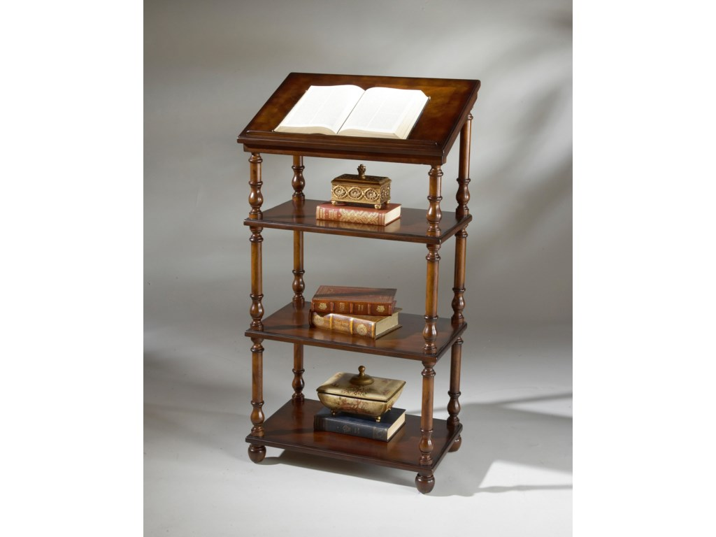 Butler Specialty Company Plantation CherryLibrary Stand