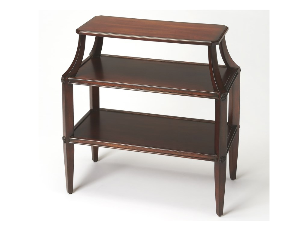 Butler Specialty Company Plantation CherryTiered Console Table