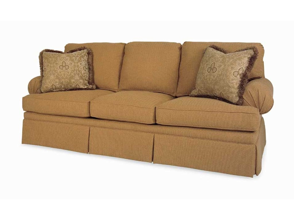C.R. Laine CDCD Pleated Arm Sofa