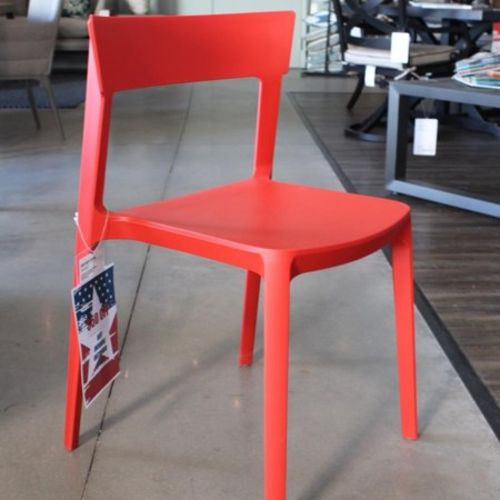 Red Stackable Chair