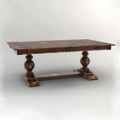 Canadel Champlain - Custom Dining Trestle Dining Table
