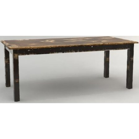 Traditional Rectangular Dining Table