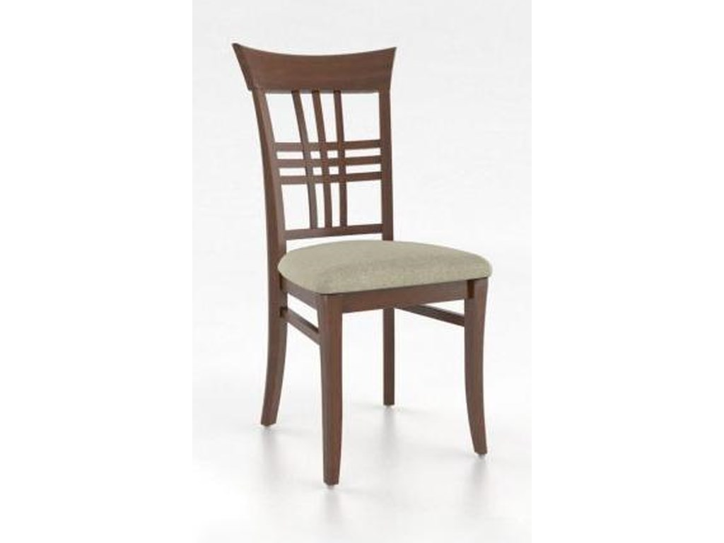 Canadel Custom Dining - CustomizedGrid Back Side Chair
