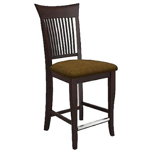 Canadel bar stools customizable 24 upholstered fixed stool broyhill of denver bar stool - Barstools denver ...