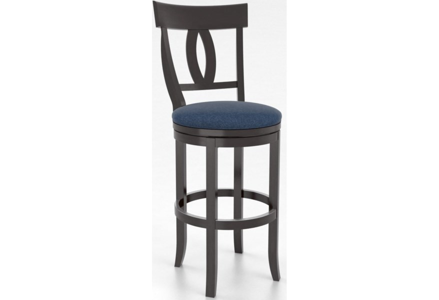 Canadel Bar Stools Sns08100tk30m30 Customizable 30 Upholstered