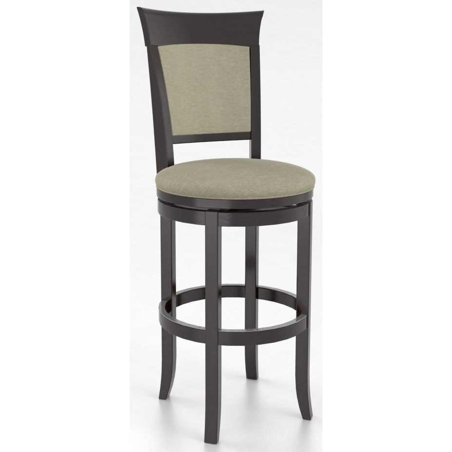 Canadel Bar Stools Sns08274ty30m30 Customizable 32 Upholstered