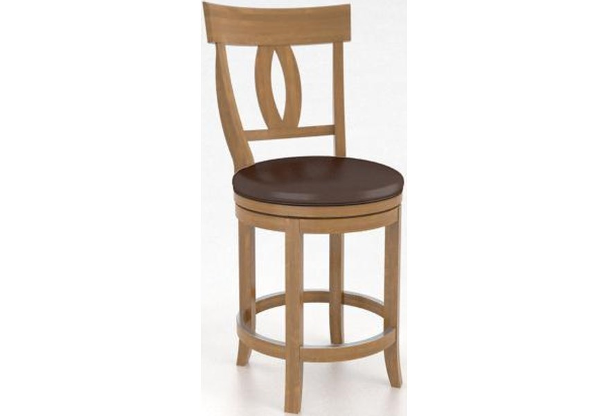 Canadel Bar Stools Sto08100xe01m24s Honey Washed Bar Stool Dunk
