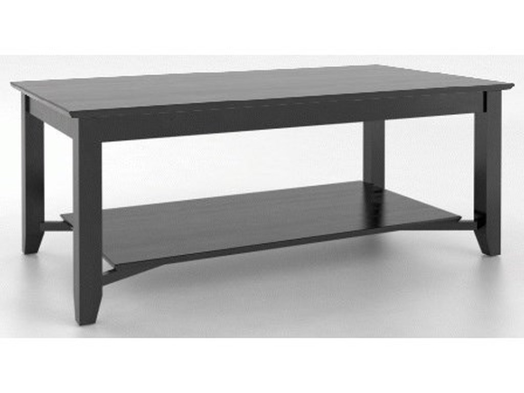 Canadel Canadel LivingCustomizable Rectangular Coffee Table