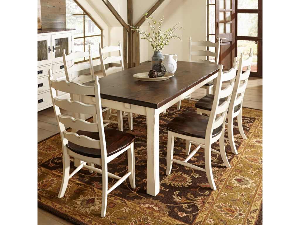Canadel Champlain - Custom Dining<b>Customizable</b> Rectangular Table Set