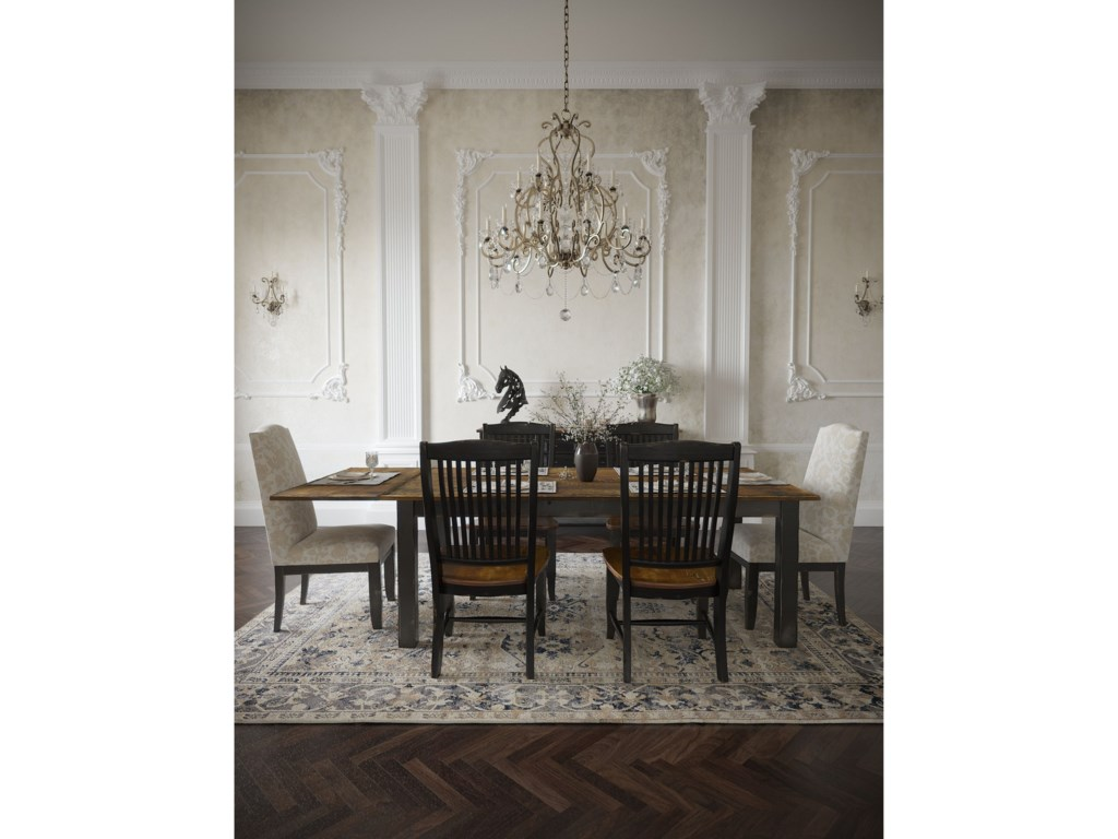 Canadel Champlain - Custom DiningCustomizable Side Chair