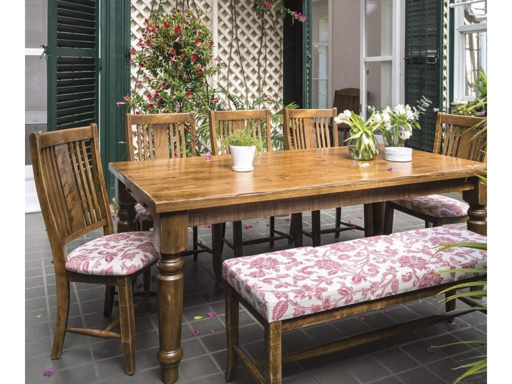 Canadel Champlain - Custom DiningCustomizable Table Set