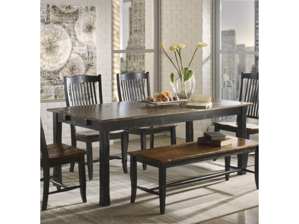 Canadel Champlain Custom Dining B Customizable Rectangular Table