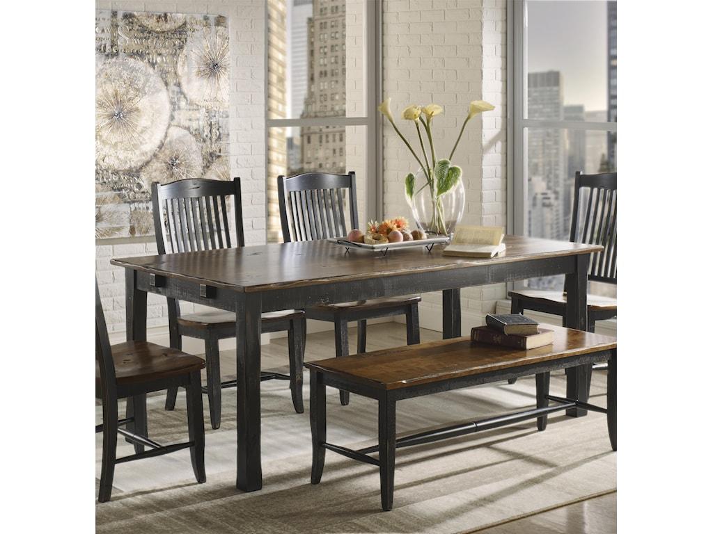 Canadel Champlain - Custom Dining Customizable Rectangular Table ...