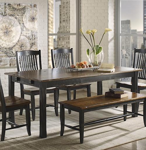 Canadel Champlain - Custom Dining Customizable Rectangular Table