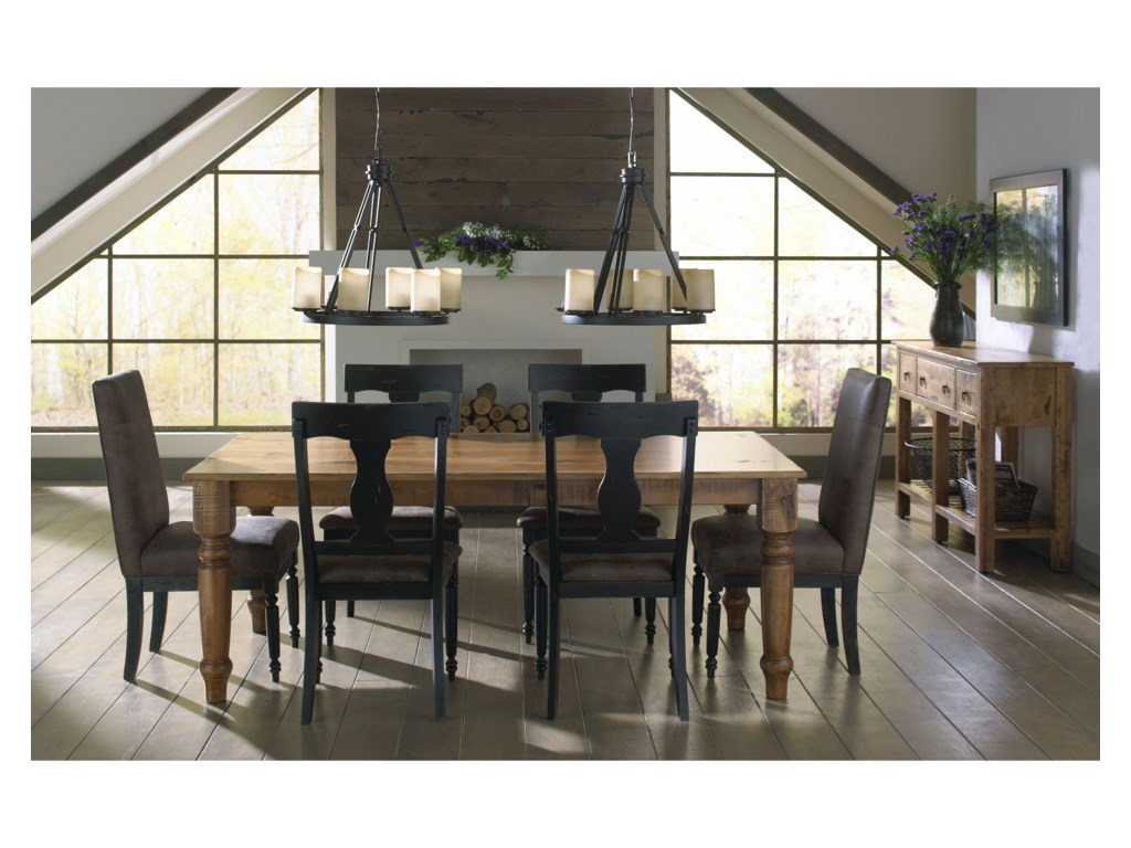 Canadel Champlain - Custom DiningCustomizable Rectangular Table Set