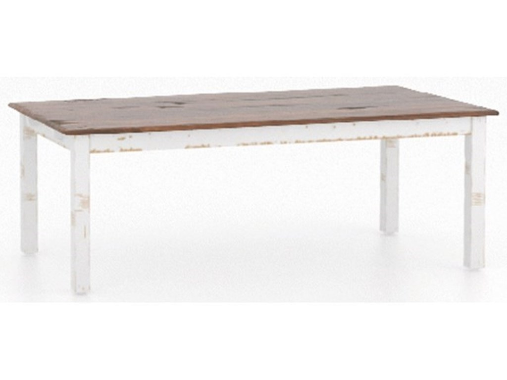 Canadel Champlain - Custom DiningCustomizable Table Set with Bench