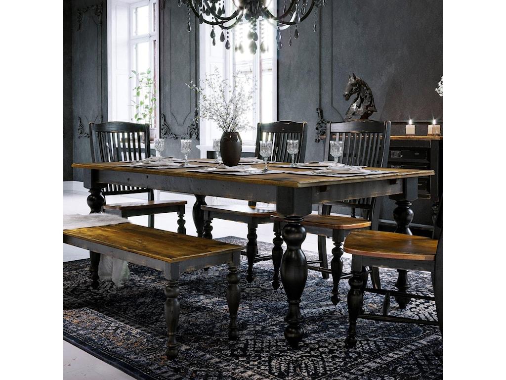 Canadel Champlain - Custom DiningCustomizable Rectangular Table