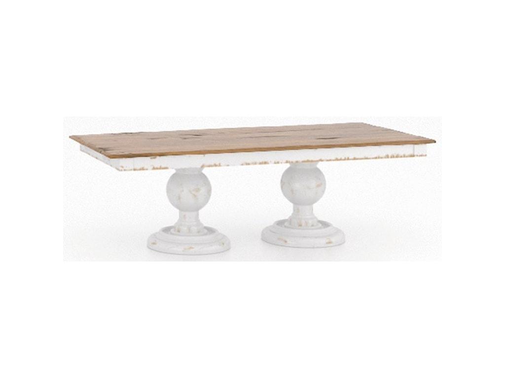 Canadel Champlain - Custom DiningCustomizable Dining Table