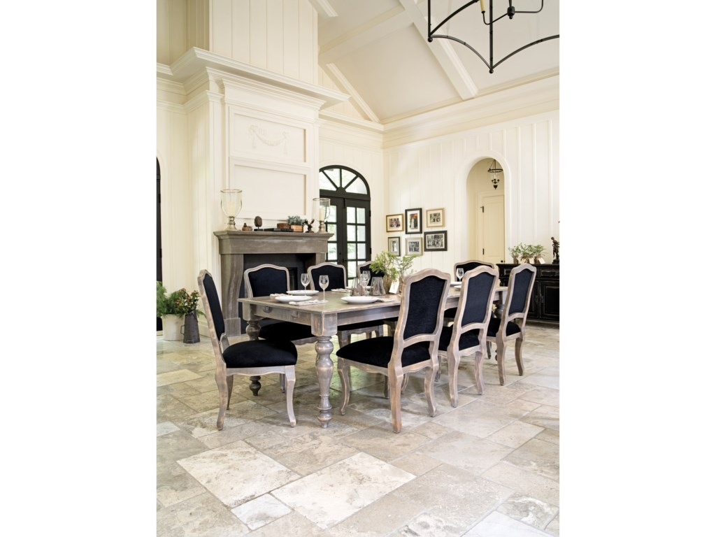 Canadel Champlain - Custom DiningCustomizable Dining Table