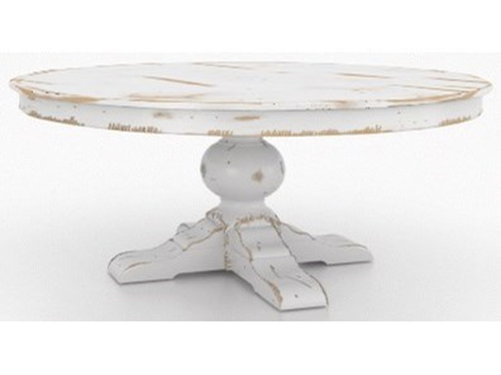 Canadel Champlain - Custom DiningCustomizable Round Dining Table
