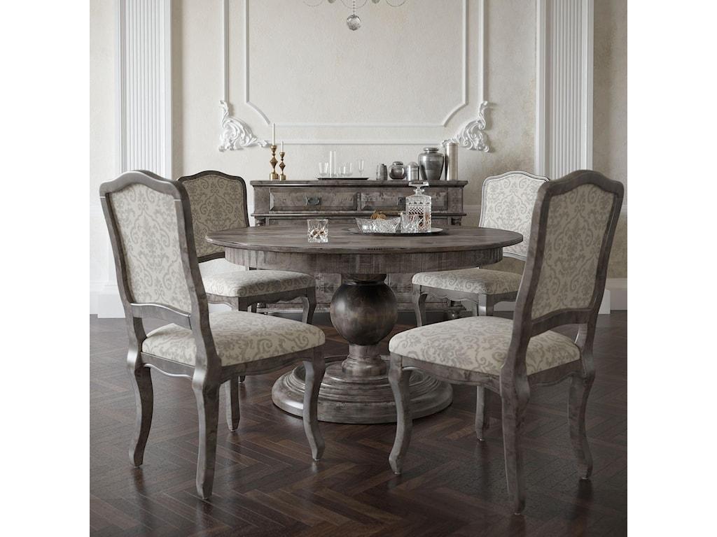 Canadel Champlain - Custom DiningCustomizable Round Dining Table Set