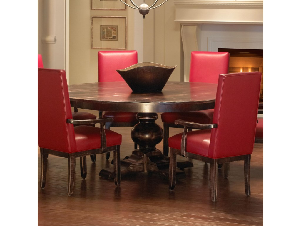 Canadel Champlain - Custom Dining<b>Customizable</b> Round Dining Table