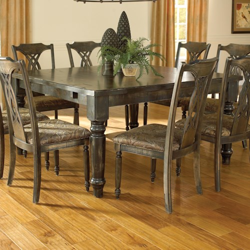 Canadel Champlain - Custom Dining Customizable Square Thick Top Table
