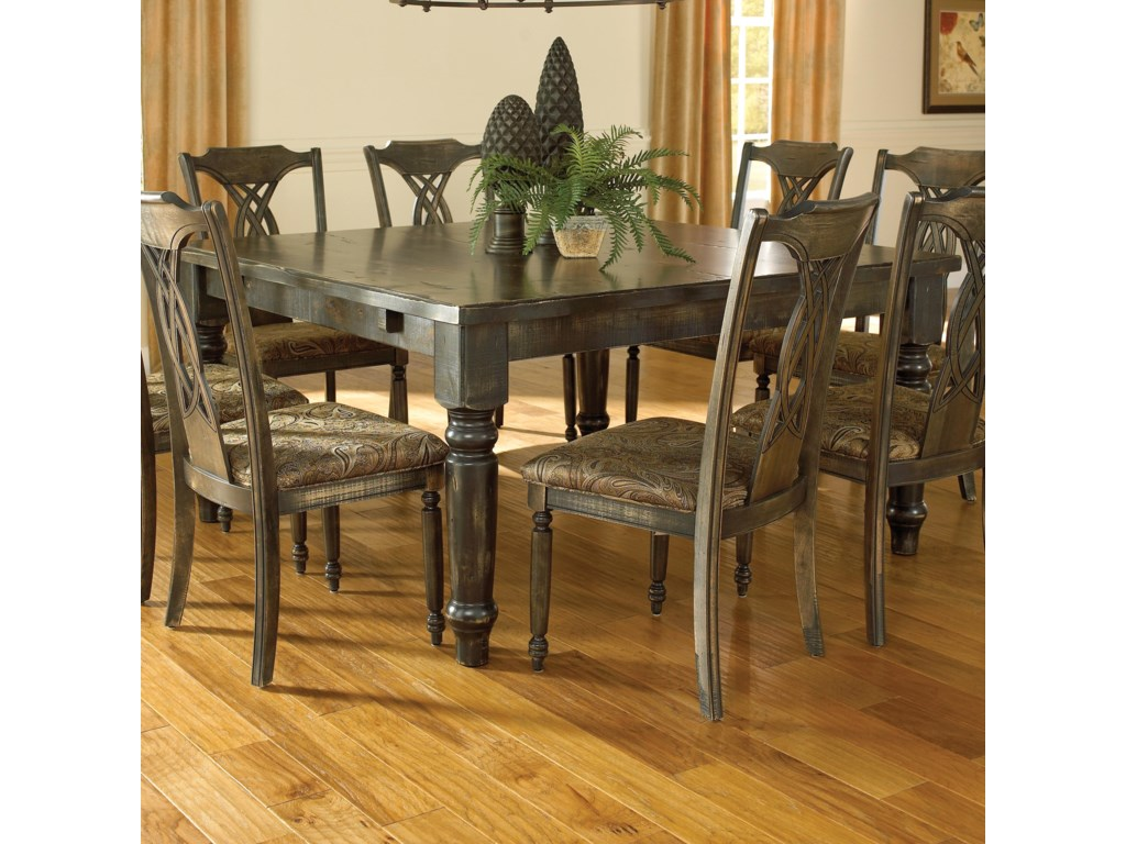 Canadel Champlain - Custom Dining<b>Customizable</b> Square Thick Top Table