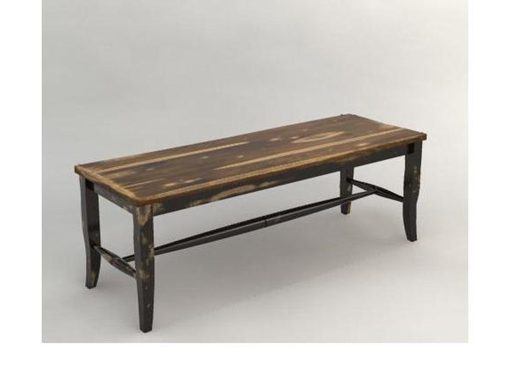 Canadel Champlain - Custom Dining<b>Customizable</b> Dining Bench