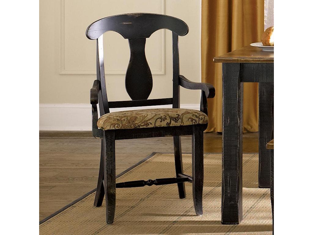 Canadel Champlain - Custom Dining<b>Customizable</b> Upholstered Arm Chair