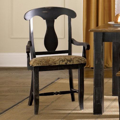 Canadel Champlain - Custom Dining Customizable Upholstered Arm Chair