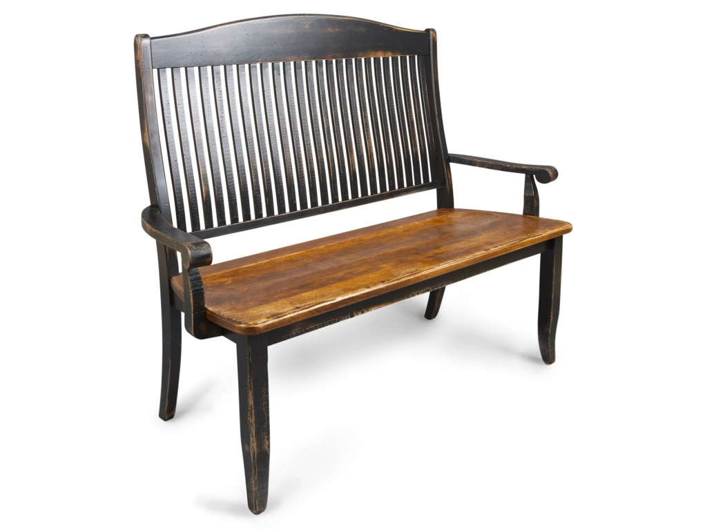 Canadel Champlain - Custom Dining<b>Customizable</b>  Wooden Bench