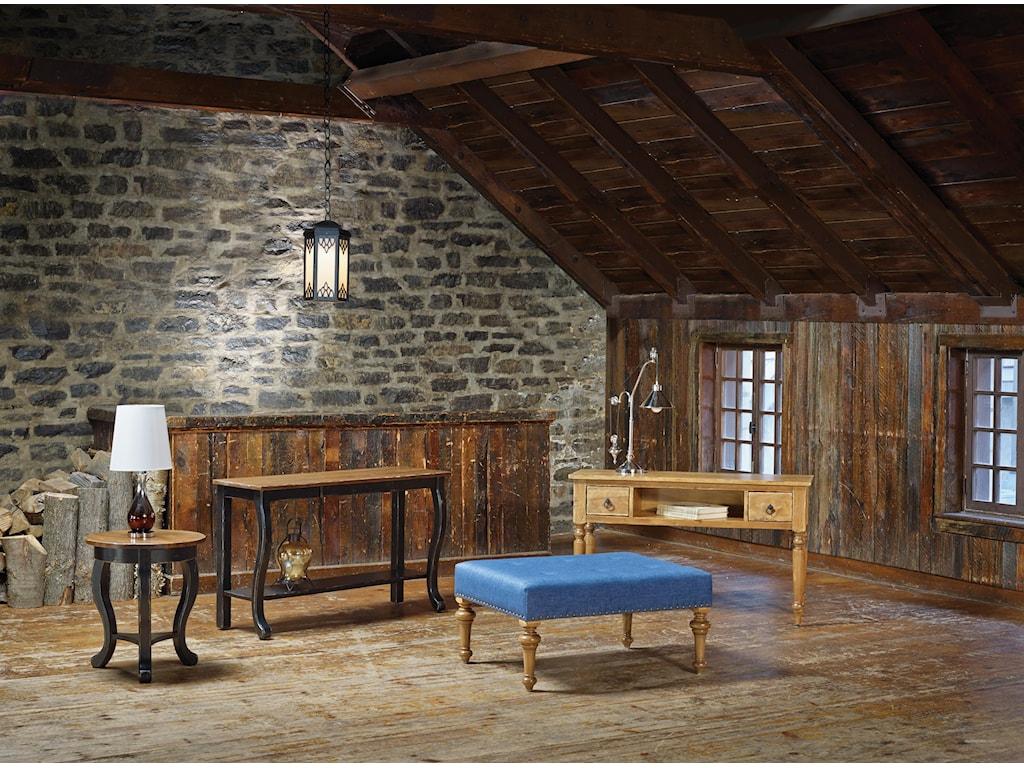 Canadel Champlain - Living<b>Customizable</b> Rectangular Ottoman