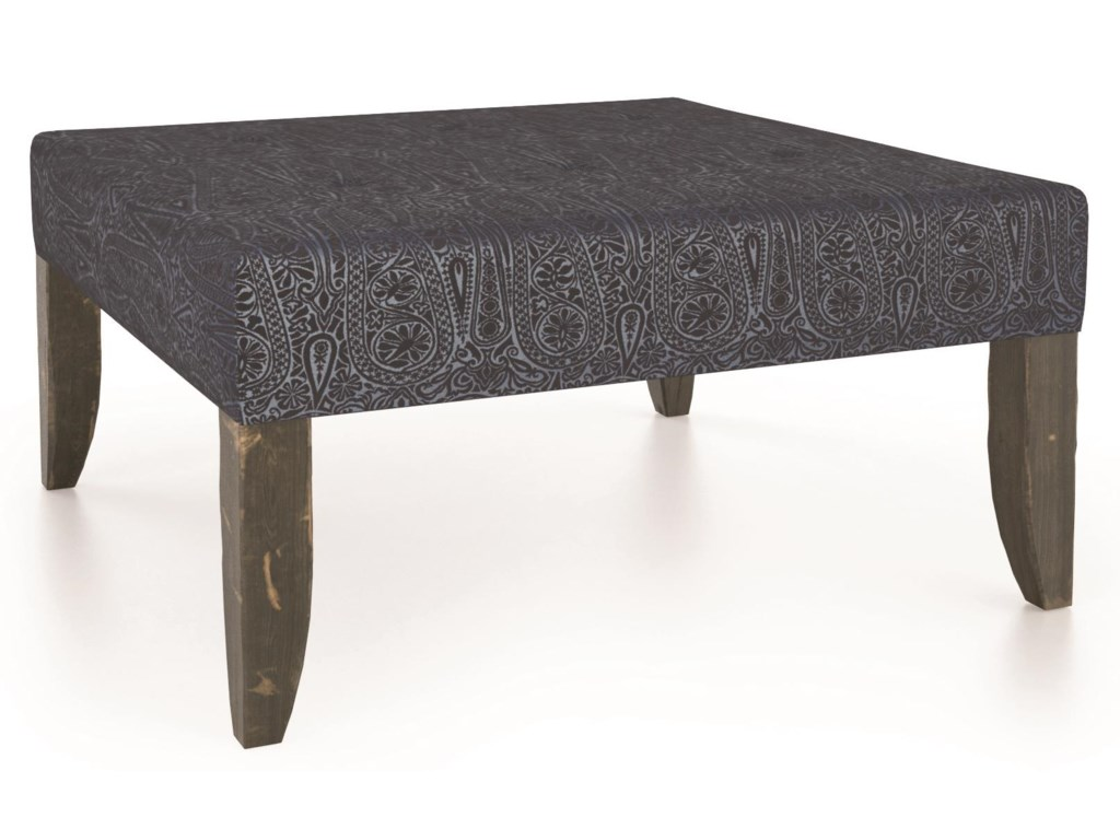 Canadel Champlain - Living<b>Customizable</b> Square Ottoman