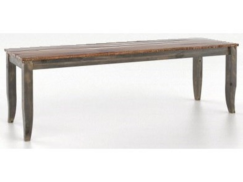 Canadel Champlain - Custom DiningCustomizable Dining Bench