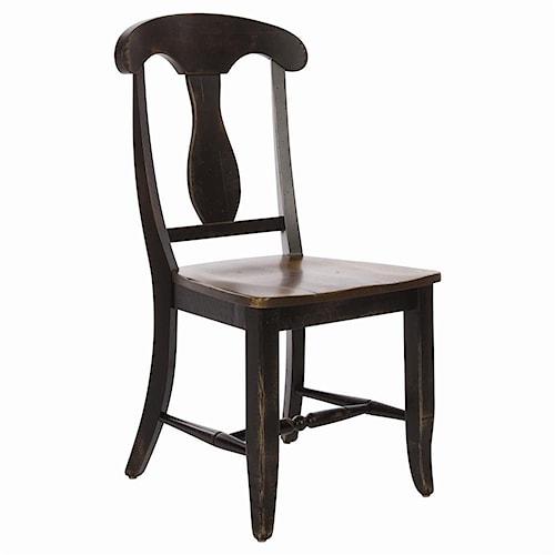 Canadel Champlain - Custom Dining Customizable Splat Back Dining Side Chair