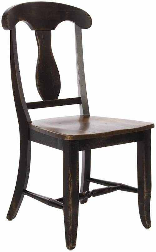 Canadel Champlain - Custom Dining Customizable Splat Back Dining Side Chair
