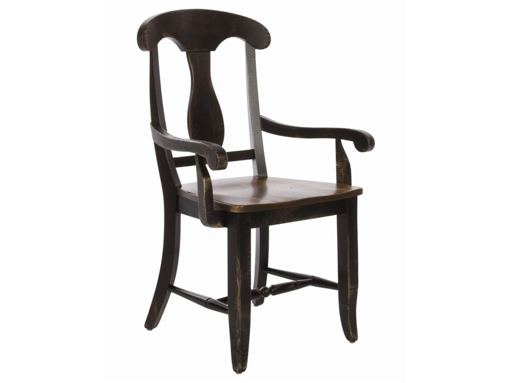Canadel Champlain - Custom Dining<b>Customizable</b>  Dining Arm Chair