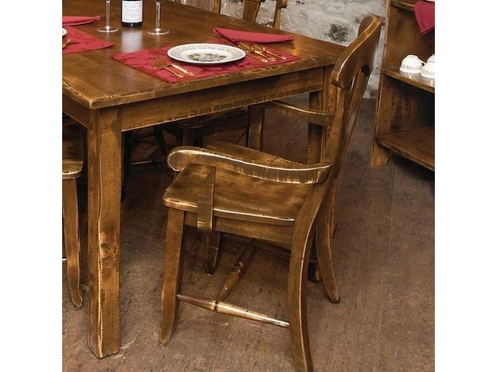 Canadel Champlain - Custom Dining<b>Customizable</b>  Dining Arm Chair