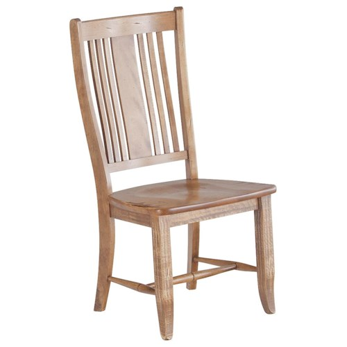 Canadel Champlain - Custom Dining Customizable Slat Back Side Chair