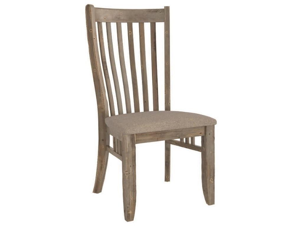 Canadel Champlain - Custom DiningCustomizable Slat Back Uph. Side Chair